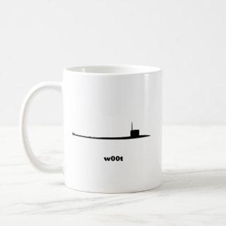 Sub w00t coffee mug
