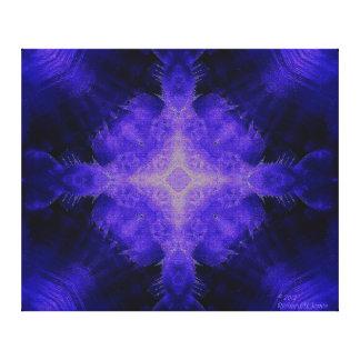 Sub-Zero Mandala Canvas Print