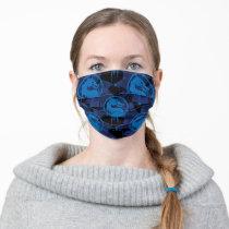 Sub-Zero Mortal Kombat Dragon Pattern Adult Cloth Face Mask