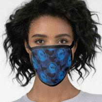 Sub-Zero Mortal Kombat Dragon Pattern Face Mask