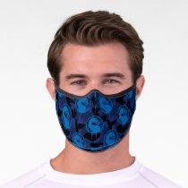 Sub-Zero Mortal Kombat Dragon Pattern Premium Face Mask