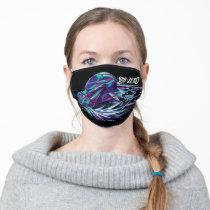 Sub-Zero Polygonal Graphic Adult Cloth Face Mask