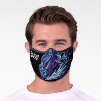 Sub-Zero Polygonal Graphic Premium Face Mask