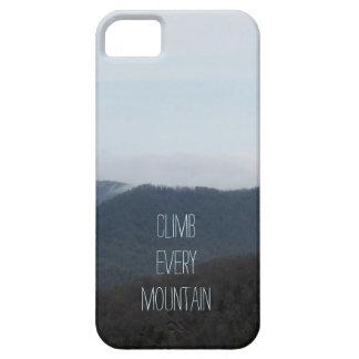 Suba cada caja del iPhone 5/5S de la montaña Funda Para iPhone SE/5/5s