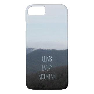 Suba cada caja del iPhone 7 de la montaña Funda iPhone 7