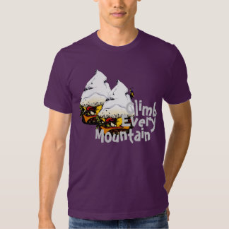 Suba cada camiseta de la hamburguesa de la montaña poleras