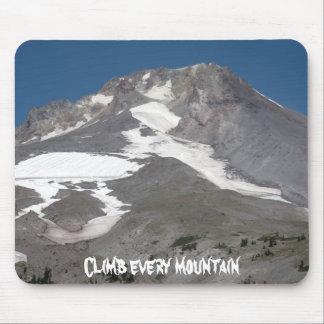 Suba cada montaña mousepad