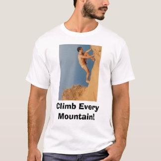¡Suba cada montaña! ¡, Suba cada montaña! Playera