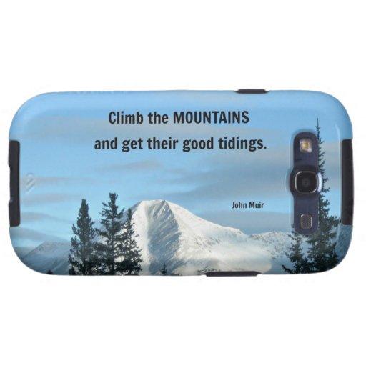 Suba las montañas y consiga su bueno…. galaxy s3 cobertura
