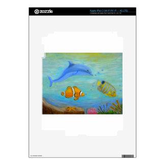 Subacuático Pegatinas Skins Para iPad 3