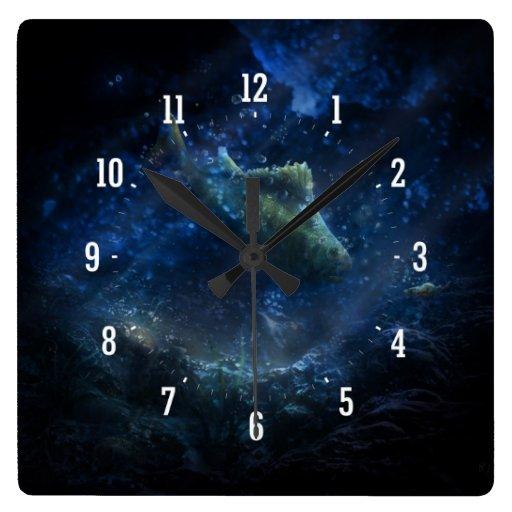 Subacuático - reloj de pared