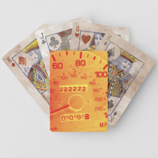 Subaru 222,222 Mile Odometer Bicycle Playing Cards