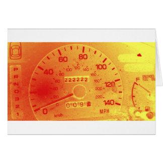 Subaru 222,222 Mile Odometer Cards