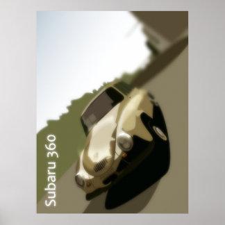 Subaru 360 poster