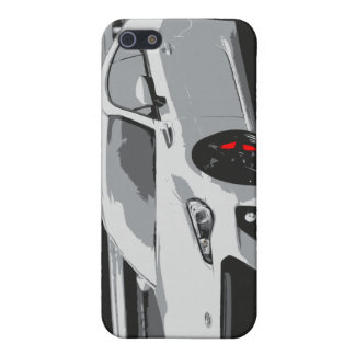 Subaru BRZ in White Cover For iPhone SE/5/5s