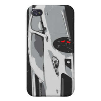 Subaru BRZ in White Covers For iPhone 4