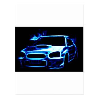 Subaru Impreza Postcard