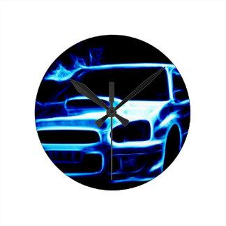 Subaru Impreza Round Clock