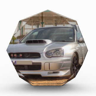 Subaru Impreza STi - Body Kit Silver Acrylic Award