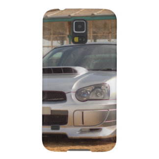 Subaru Impreza STi - Body Kit (Silver) Galaxy S5 Cases