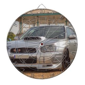 Subaru Impreza STi - Body Kit (Silver) Dartboard With Darts