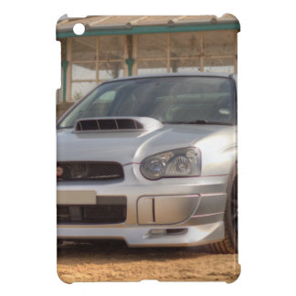 Subaru Impreza STi - Body Kit (Silver) iPad Mini Cases