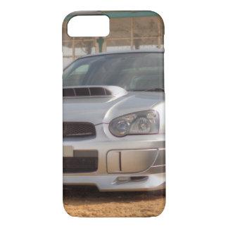 Subaru Impreza STi - Body Kit (Silver) iPhone 7 Case