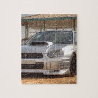 Subaru Impreza STi - Body Kit (Silver) Jigsaw Puzzle