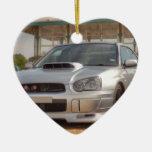 Subaru Impreza STi - Body Kit (Silver) Christmas Tree Ornament