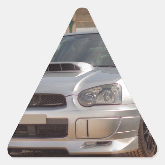 Subaru Impreza STi - Body Kit (Silver) Triangle Sticker