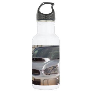 Subaru Impreza STi - Body Kit (Silver) Water Bottle