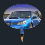"Subaru Impreza STi &quot;Hawkeye&quot; in Blue Cake Topper<br><div class=""desc"">Gorgeous Subaru Impreza WRX STi &quot;Hawkeye&quot;,  in WR Blue</div>"
