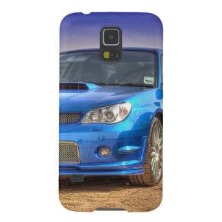 "Subaru Impreza STi ""Hawkeye"" in Blue Case For Galaxy S5"