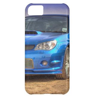 "Subaru Impreza STi ""Hawkeye"" in Blue iPhone 5C Cover"