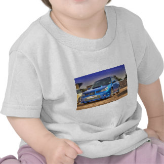 "Subaru Impreza STi ""Hawkeye"" in Blue T-shirt"