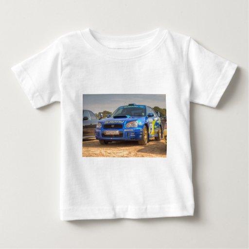 Subaru Impreza STi SWRT Stickers Baby T-Shirt
