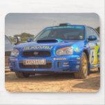 Subaru Impreza STi SWRT Stickers Mousepad