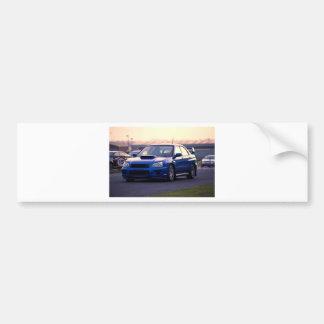 Subaru Impreza WRX STi Bumper Sticker