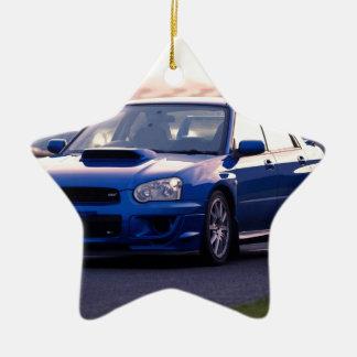 Subaru Impreza WRX STi Ceramic Star Decoration