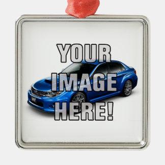 Subaru Impreza WRX STI Photo - Add your car Christmas Ornament