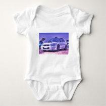 Subaru Impreza WRX STi Spec C in White Baby Bodysuit