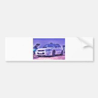 Subaru Impreza WRX STi Spec C in White Bumper Sticker