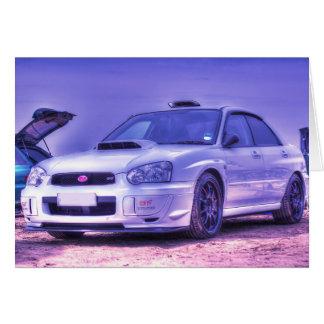 Subaru Impreza WRX STi Spec C in White Card
