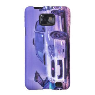 Subaru Impreza WRX STi Spec C in White Samsung Galaxy S2 Cover