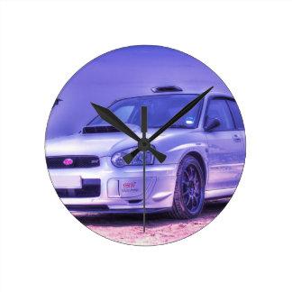 Subaru Impreza WRX STi Spec C in White Clock