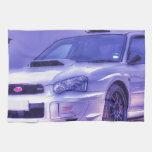 Subaru Impreza WRX STi Spec C in White Hand Towels