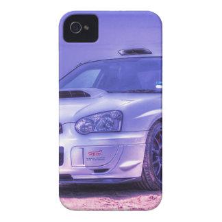 Subaru Impreza WRX STi Spec C in White iPhone 4 Case