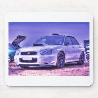 Subaru Impreza WRX STi Spec C in White Mouse Pad