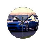 Subaru Impreza WRX STi Wallclock