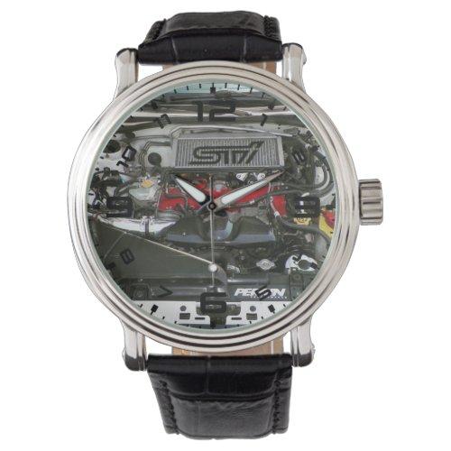 Subaru Sti Engine Bay Men's Watch
